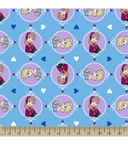 Disney® Frozen Sisters Winter Magic Love Flannel Fabric, , hi-res
