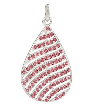 Feather Pendent Purple