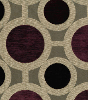 Richloom Studio Upholstery Fabric Conspiracy Mulberry