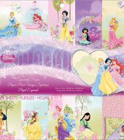 """Disney Princess Specialty Paper Pad 12""""X12"""" 24 Sheets-, , hi-res"""