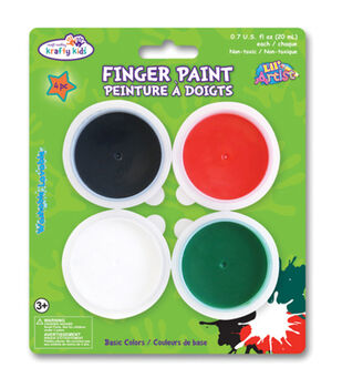 Krafty Kids Finger Paint Tubs