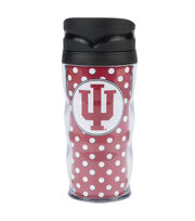 Indiana University NCAA Polka Dot Travel Mug, , hi-res