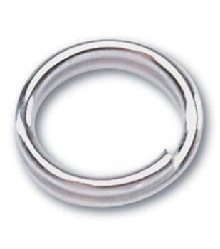 Darice Silver Metal Findings-7mm Double Ring 30/Pkg