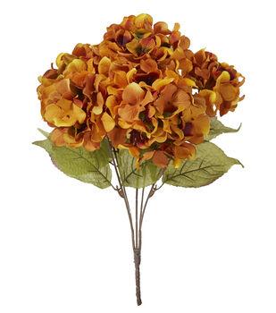 Blooming Autumn 20'' Hydrangea Bush-Rust