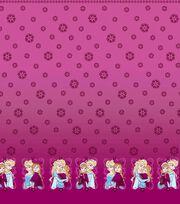 Disney Frozen Sisters Pink Mock Smock, , hi-res