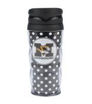 University of Missouri NCAA Polka Dot Travel Mug, , hi-res