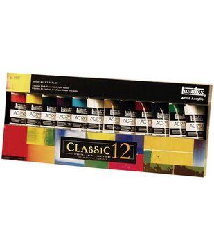 Liquitex Heavy Body Acrylic Paint Classic Set 2oz 12Pk