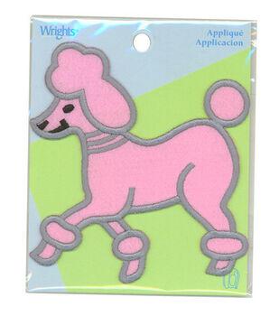 Wrights Poodle Applique