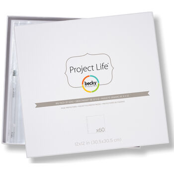 American Crafts Project Life Page Protectors Big Pack