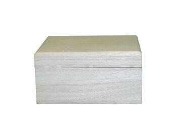 Small Wood Keepsake Box