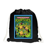 Giftable No Sew Throw-Nickelodeon Teenage Mutant Ninja Turtles Retro Toss, , hi-res
