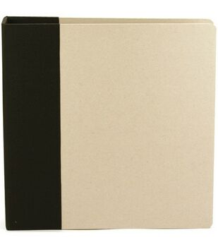 "Modern D-Ring Album 8.5""X11""-Black"