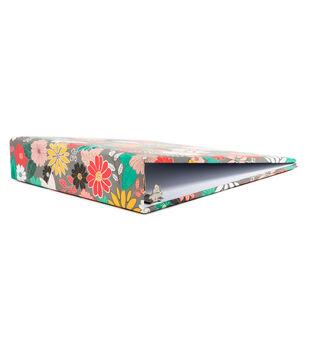 """DCWV 8-1/2""""x11"""" Binder: Garden Floral"""