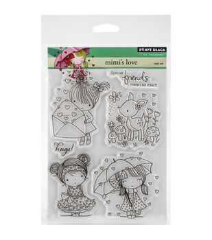 Penny Black Mimi's Love Clear Stamp Sheet
