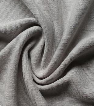Juvenile Apparel Fabric-Light Grey Interlock Solid