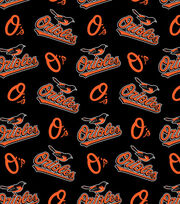 Baltimore Orioles MLB  Fleece Fabric, , hi-res