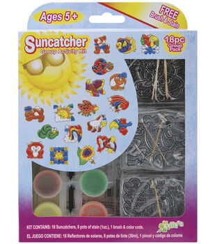 Suncatcher Group Activity Kit-Fun Animal