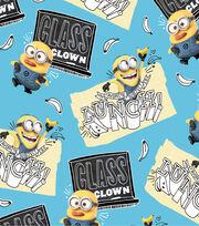 Minions Class Clown Toss Cotton Fabric, , hi-res
