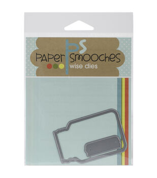 Paper Smooches Die-Crystal Clear 1