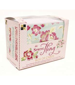DCWV Spring Fling Box of Cards