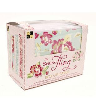DCWV Spring Fling Box of Cards