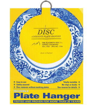 "Disc Plate Hanger 4""-For Plates Up To 12"""