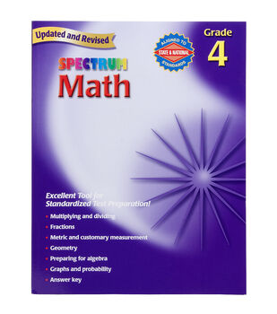 School Specialty Spectrum Math 4