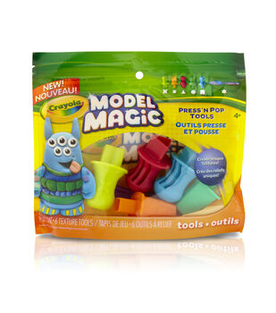 Crayola Model Magic Press 'N Pop Tools-