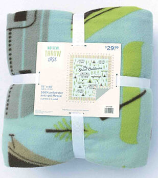 """72"""" No Sew Throw-The Great Outdoors"""