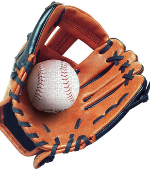 Paper House Jigsaw Shaped Puzzle Baseball Glove II