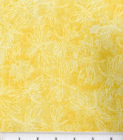 Keepsake Calico™ Cotton Fabric-Sundrenched Dragonfly Yellow, , hi-res