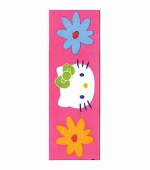 Hello Kitty Pink Floral Ribbon