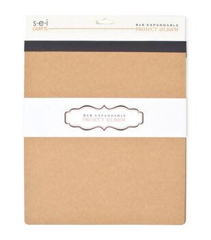 SEI The Preservation Series Kraft Album 8''x8''