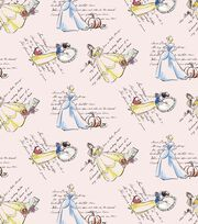 Disney Fashionable Princess Cotton Fabric, , hi-res