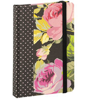 Anna Griffin Grace Black Rnd Corner Notebook, , hi-res