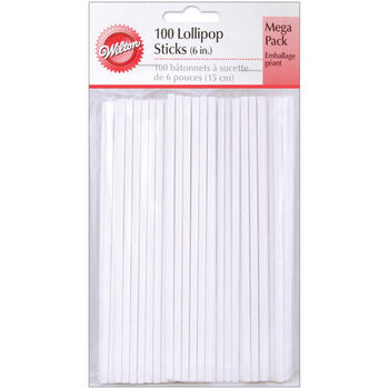 "Wilton® 6"" Lollipop Sticks"
