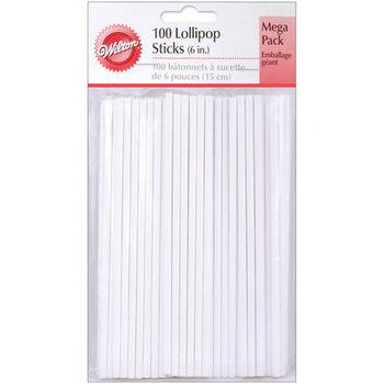 "Wilton® 6"" Lollipop Sticks"