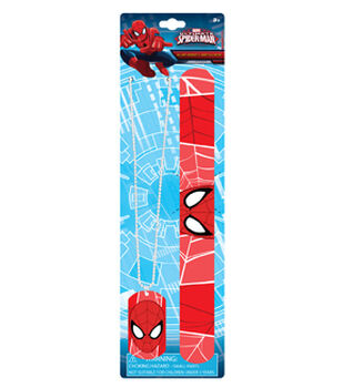 Spiderman Dog Tag and Slap Bracelet