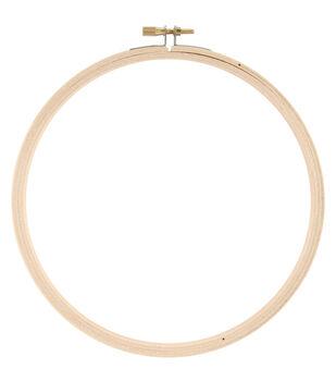 """Wood Hoop 7"""""""