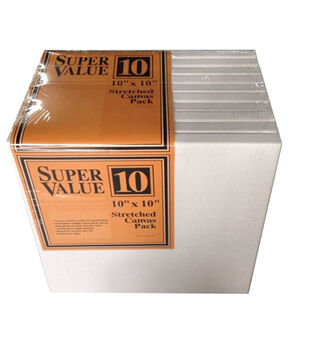 jo ann stores stretched canvas super value pack