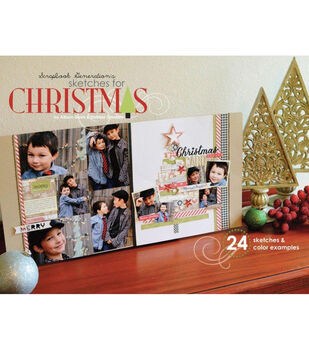 Scrapbook Generation Sketches For Christmas