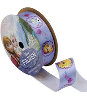 "Frozen Ribbon 7/8""x9'-Characters, , hi-res"
