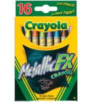 Crayola Metallic FX Crayons-16PK, , hi-res