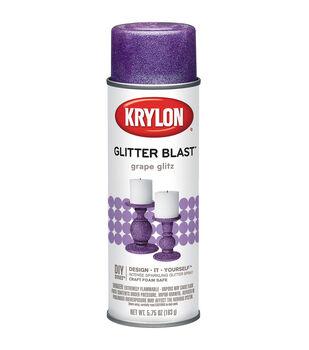 Krylon Glitter Blast Aerosol Paint 5.75 Ounces