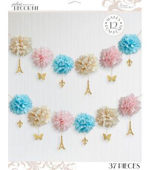 Jolee's Boutique Parisian Tissue Garland Kit