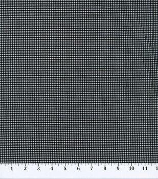 Gingham Print Cotton Fabric-1/16'' Gingham Check