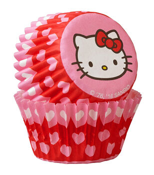 Wilton® Mini Baking Cups-Hello Kitty 100/Pkg