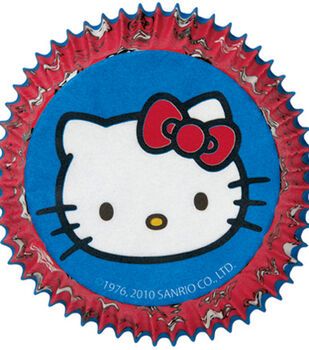 Wilton® Standard Baking Cups-50PK/Hello Kitty