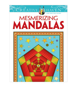 Dover Creative Haven Mesmerizing Mandalas Coloring Book