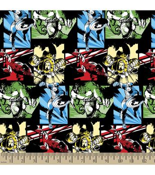Marvel Avengers Comic Char Cotton Fabric